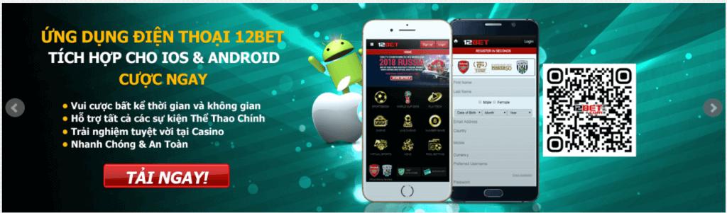 tải ứng dụng mobile của 12bet