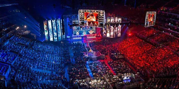 trận đấu thể thao điện tử Esports
