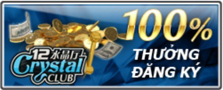 Khuyến mãi thưởng đăng ký trên nhà cái 12bet
