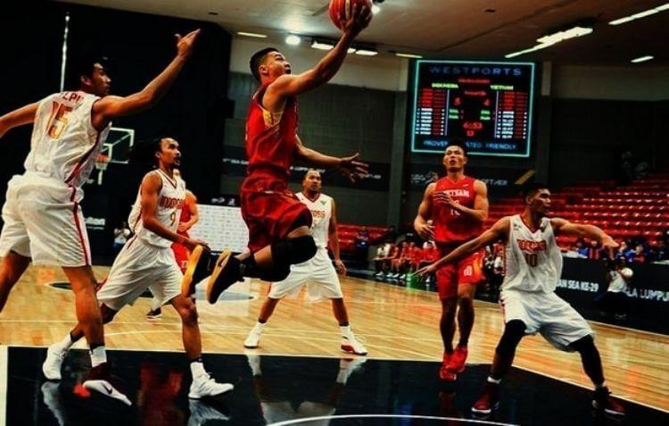 đấu bóng rổ