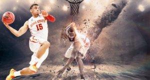 chơi bóng rổ