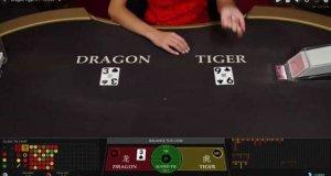 bàn chơi dragon tiger