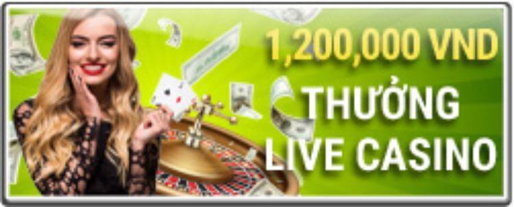 khuyến mãi live casino 12BET